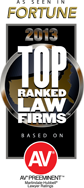 Top Ranked Law Firms 2013